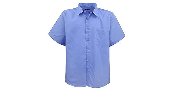 Lavecchia HKA19-02 - Camisa de manga corta para hombre, color ...