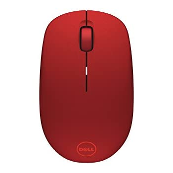af43a996cf7 Amazon.com: Dell Wireless Mouse WM126 - Red (4W71R): Computers ...