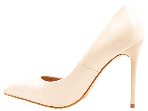 Elara - Tira de tobillo Mujer Beige Paris