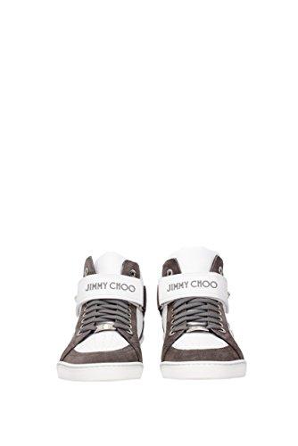 Sneakers Jimmy Choo lewis Uomo - Pelle (LEWISOCU) EU Grigio