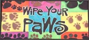 sassafras-decorative-insert-mat-10x22-inches-wipe-your-paws-by-evergreen