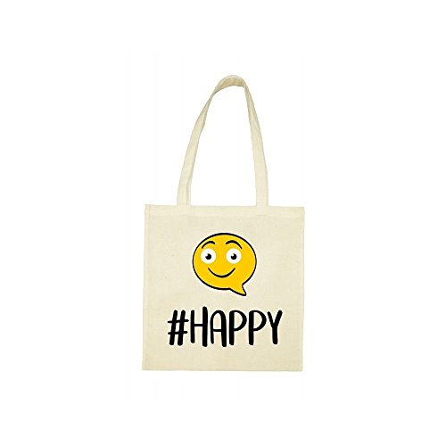bag Tote beige Tote beige Tote happy happy hashtag happy beige bag hashtag bag hashtag ZZR1xr