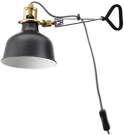 IKEA WallClamp Spotlight RANARP Black