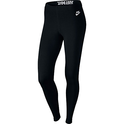 Nike Leg-A-See Just Do It Women's Leggings Black/White 726085-010 (Size M)