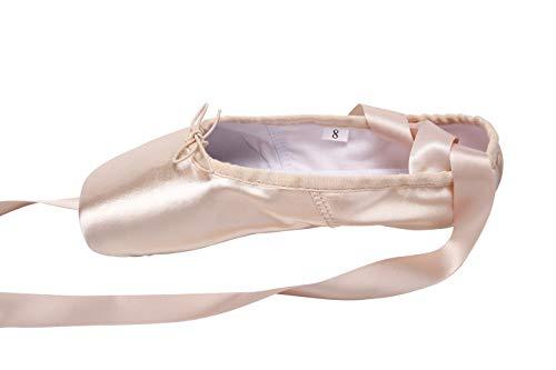 69337405fd305 Wendy Wu Girls Womens Dance Shoe Pink Ballet Pointe Slippers Ballet ...