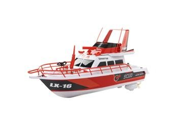 UPC 000649328008, 3-channel Radio Control R/C Fire Patrol Racing Boat 1:28 Scale