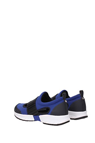Armani Jeans Sneakers Women - Fabric (9251817P572) UK Blue nxScEm
