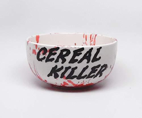 Cereal Killer Cereal Bowl Breakfast Serving Bowl Dinnerware