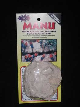 Pollys Pet Products Manu Mineral Blocks Natural for Birds