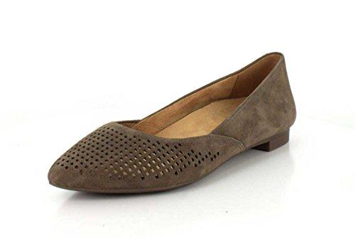 Vionic Damen, Posey Spitzschuh Fashion Flats Taupe