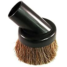 """High Quality Universal Soft Horsehair Bristle Vacuum Cleaner Dust Brush. Fits All Vacuum Brands Accepting 1 1/4"""" Inner Diameter Attachments Such As Hoover, Bissell, Eureka, Royal, Dirt Devil, Koblenz, Kirby, Rainbow, Tristar, Kenmore, Oreck, Electrolux, Panasonic, Shop Vac, Ridgid, Craftsman, Beam, Vacuflo, Vacumaide, Cen-tec, Proteam, Evolution, Cirrus, Sanitaire. Will Fit Many More Brands and Models but You Must Measure and Confirm Before Purchasing. These Are Not Button Lock Attachments. The Style of Tool You Receive May Vary Depending on Stock."""