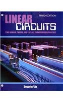 Linear Circuits Time Domain Phasor and Laplace Transform Approaches