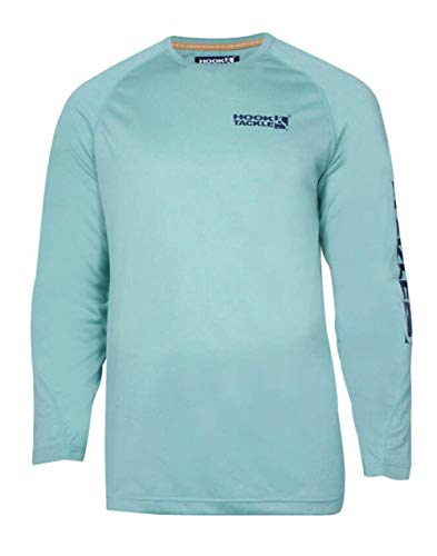 Tackle Tech - Hook & Tackle Seamount Longsleeve Solid Tech T - Jade Heather