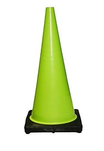 ミニミニコーン 緑(25個) 300mm(高さ) ※1個から購入できます。 B008605YGG  緑25個