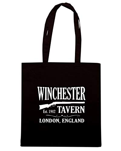 OF Nera Shopper DEAD WINCHESTER Borsa SHAUN OLDENG00725 TAVERN THE RYUxwx51qn