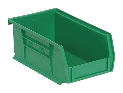 Quantum QUS220GN Green Ultra Stack and Hang Bin, 7-3/8