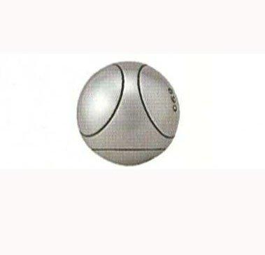 サンラッキー ペタンク 国際連盟公認球3個セット MTX SRP-61 直径:72mm B003RRU4GI 重量:700g|ストライプ:0 重量:700g