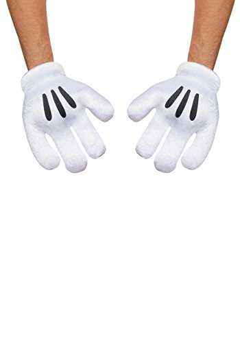 Disney Parks Mickey Mouse Exclusive Mitts Plush Costume Gloves]()