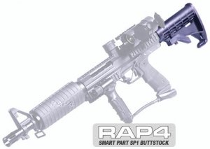 amazon com smart parts sp1 butt stock paintball stock sports
