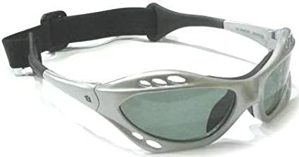 072ee96867 Amazon.com   Silver Frame Polarized Goggles Floating Kite Surf Water ...