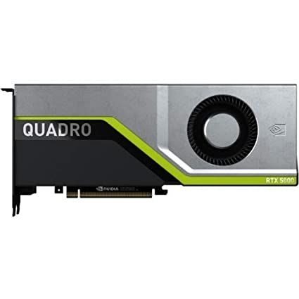 PNY QUADRO RTX 5000 Graphic Card - 16 GB GDDR6 - Dual Slot Space Required -  4096 bit Bus Width - Fan Cooler - OpenACC, OpenGL 4 5, DirectX 12, OpenCL,