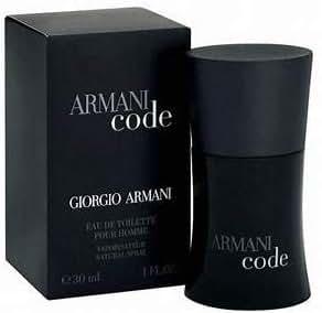 Giorgio Armani Code 'Black' Mens Cologne 1 oz 30 ml EDT eau de toilette Spray