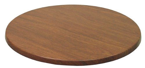 ATC Werzalit Wood-Look Table Top, 24'' D, New Mahogany (Pack of 2) by American Trading Company
