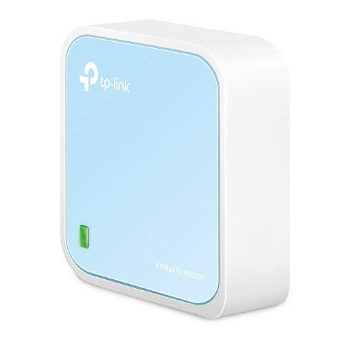 TP-Link TL-WR802N - Enrutador inalámbrico de sobremesa, 300 Mbps, 802.11b/g/n