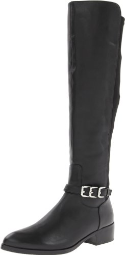 Donald J Pliner Women's Nellie Riding Boot,Black,8 M US