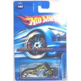 (2006 Hot Wheels Scorchin Scooter #183 No Series 1:64 Scale)