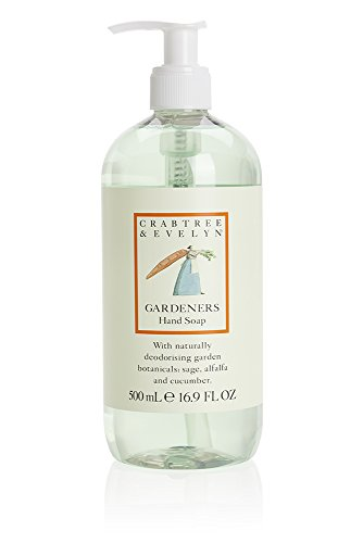 Crabtree & Evelyn Hand Soap, Gardeners, 16.9 Fl Oz