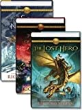 img - for Heroes of Olympus (The Lost Hero, The Son of Neptune, The Mark of Athena) book / textbook / text book