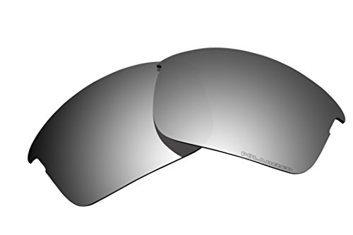 Polarized Replacement Lenses for Oakley Bottle Rocket Sunglasses - 5 Options Available (Black Iridium)