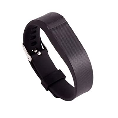 Replacement Wrist Band Buckle for Fitbit Flex - Code001 black