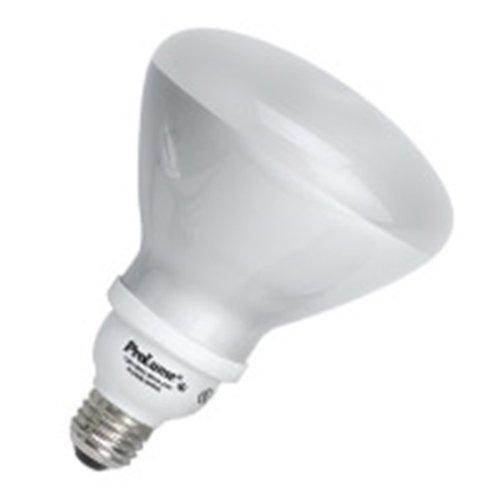 23w R40 Compact - 12 Qty. Halco 23W Spiral R40 3000K Med ProLume CFL23/30/R40 23w 120v CFL Soft White Flood Lamp Bulb