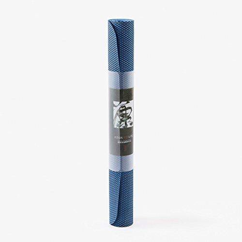 YOGA-HECSS Portable Yoga Matte 1,5 Mm Licht Mesh Gummi Yoga-Matte Tragbare W2019