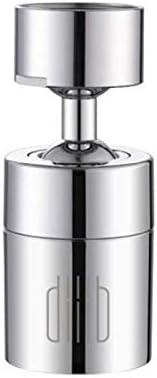 PETSOLA 360 Gire el grifo de la cocina Aireador Difusor de agua Burbuja Ahorro de agua Cabezal del filtro Boquilla Conector del grifo Modo doble: Amazon.es: Jardín
