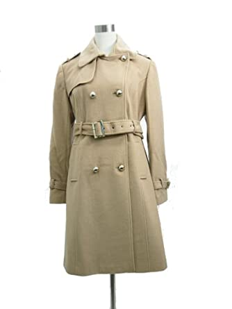 Amazon.com: Women's Long Wool Coat with belt-Camel: Clothing