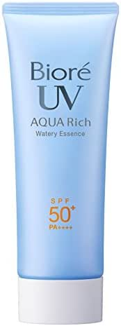 Biore Sarasara UV Aqua Rich Watery Essence Sunscreen SPF50+ PA++++ 75g (2015 Spring Limited Bag)