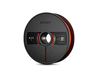 Zortrax Z-Hips 3D Printer Filament - Red - 1.75mm Diameter - 800g Spool