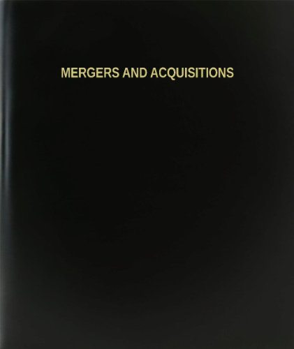 BookFactory® Mergers And Acquisitions Log Book / Journal / Logbook - 120 Page, 8.5