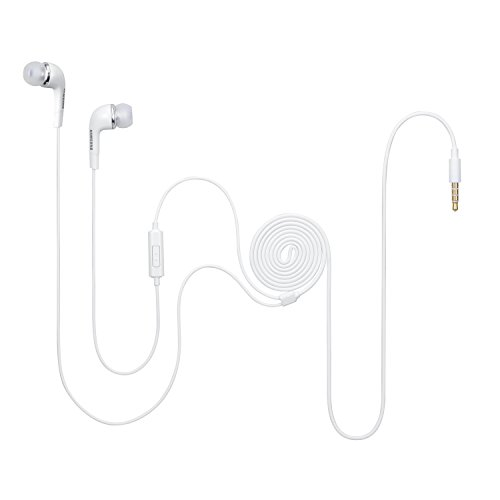 Samsung EHS64 EHS64AVFWECINU Wired Stereo Headset (White)