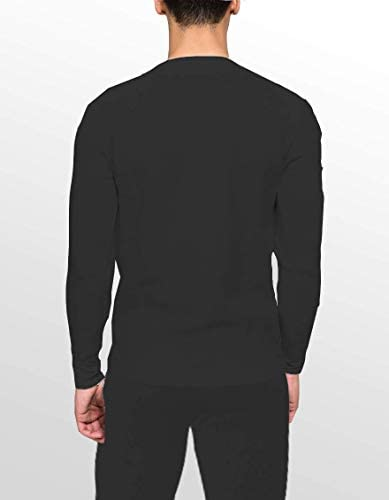 Place and Street Men's Cotton Thermal Underwear Set Shirt Pants Long Johns