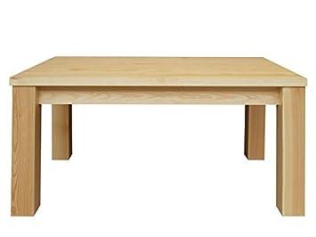 Salón Mesa Pino maciza natural 50 x 90 x 60 cm, madera maciza de ...
