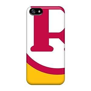 Bumper Hard Cell-phone Case For Iphone 5/5s (GGi13553BMeq) Unique Design Fashion Washington Redskins Image