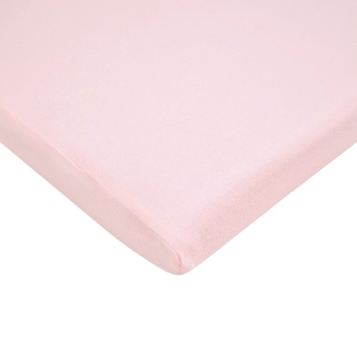 American Baby Company 100% Cotton Value Jersey Knit Bassinet Sheet, Pink