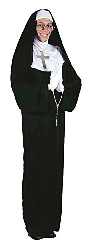 Women's Mother Superior Nun Outfit Fancy Dress Adult