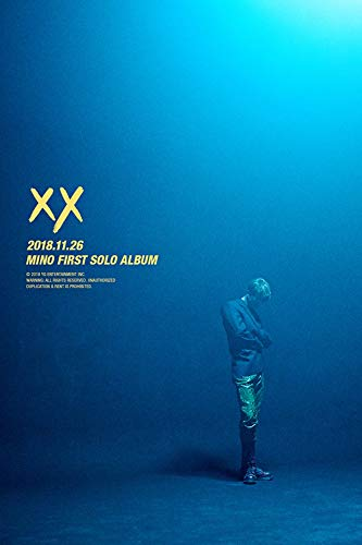 Price comparison product image WINNER SONG MINO [XX] 1st Album RANDOM CD+POSTER+Booklet+Double-Sided Lyrics Poster(On pack)+Art Book +Sticker Set+Polaroid Photo Card+Book Mark+Tracking Number K-POP SEALED