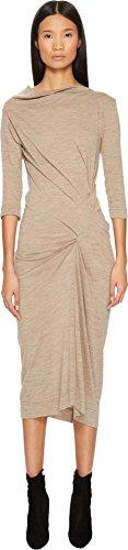 (Vivienne Westwood Women's Taxa Jersey Dress Beige Large)