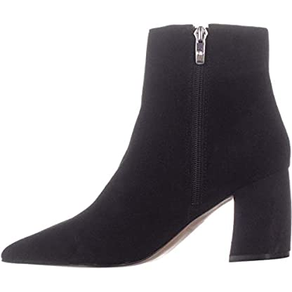 Marc Fisher Retire Ankle Boots, Medium Red Suede 1